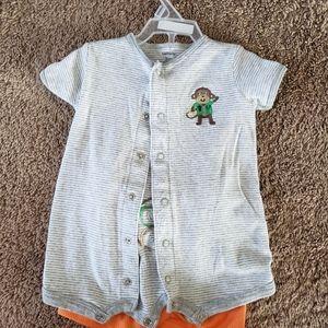 Baby boy onesie & shorts